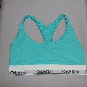 Calvin Klein Teal Racerback size MEDIUM